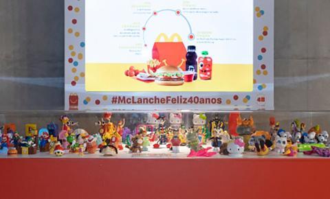 McDonald's realiza exposição de brinquedos do McLanche Feliz