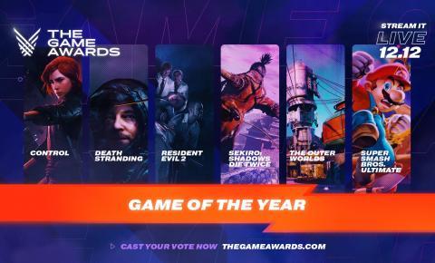The Game Awards tem lista de 2019 divulgada