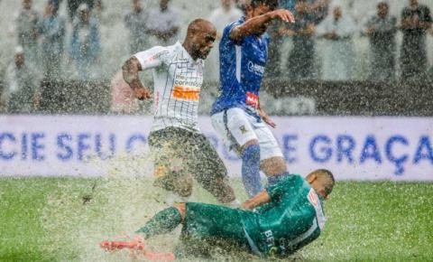 Corinthians busca o empate no fim contra o Santo André