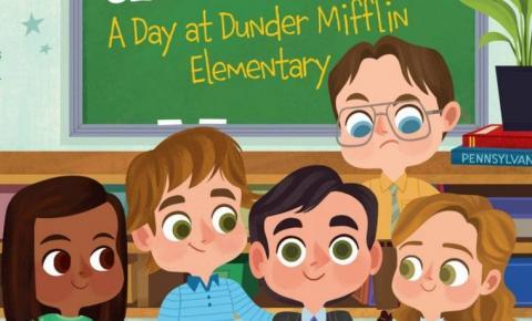 The Office ganha livro infantil com versões infantis dos personagens