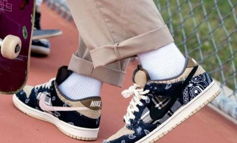 Nike lança tênis em collab com Travis Scott
