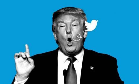 """Twitter marca perfil de Trump como """"inconfiável"""" e vídeo compartilhado pelo presidente como """"mídia manipulada"""""""