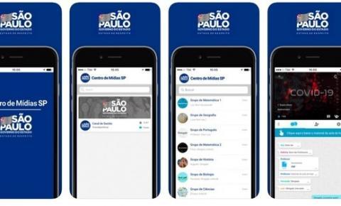 São Paulo lança aplicativo para ministrar aulas a distância para alunos da rede estadual