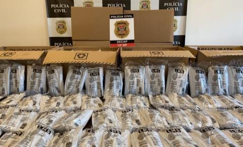 Polícia Civil apreende 20 mil máscaras cirúrgicas e mais de 40 frascos de álcool em gel