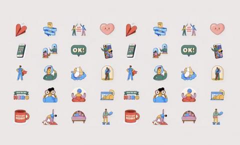 WhatsApp lança pacote de figurinhas em parceria com a OMS