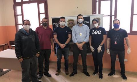Polícia realiza mutirão para emitir documentos à população em situação de rua