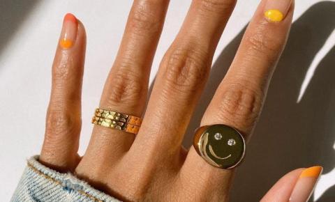 Dicas:Quatro inspirações de unhas coloridas