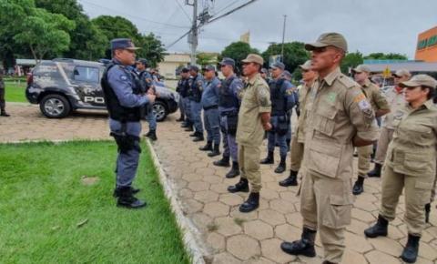 Policiais militares se reúnem para distribuir alimentos à profissionais de segurança pública em situação de vulnerabilidade
