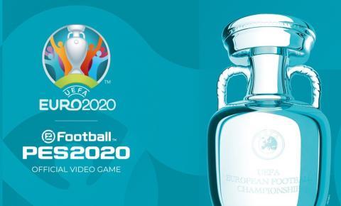 DLC da EUFA Euro 2020 já está disponível em PES 2020