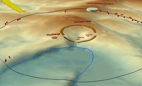 Estrutura pré-histórica é encontrada na Inglaterra