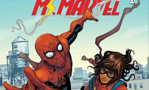 Ms. Marvel substitui Homem-Aranha no Universo Cinematográfico da Marvel