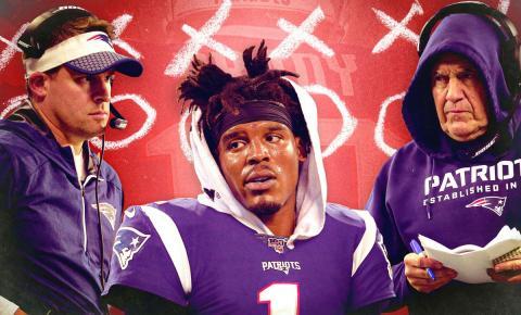 Cam Newton é o novo Quarterback do New England Patriots