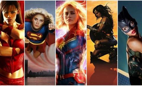 Protagonismo feminino nos filmes de super-herói
