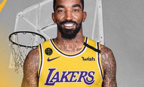 J. R. Smith é anunciado como novo reforço do Lakers