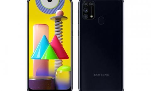 Samsung Galaxy M31 chega ao Brasil com bateria potente
