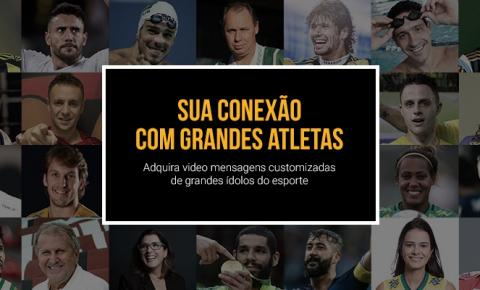 Empresa lança site que aproximará fãs de grandes atletas do esporte