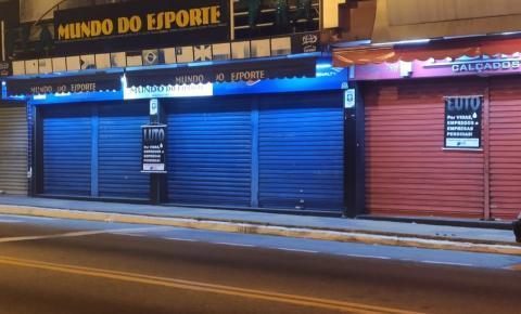 Volta Redonda acumula mais de 3 mil demissões devido ao fechamento do comércio