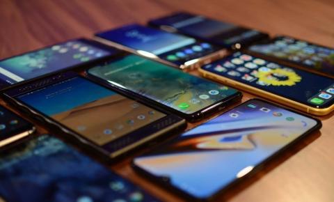 Smartphones tem alta de 266% no primeiro trimestre