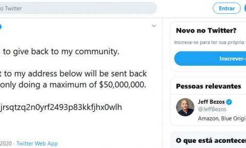 Hackers invadem contas verificadas no Twitter