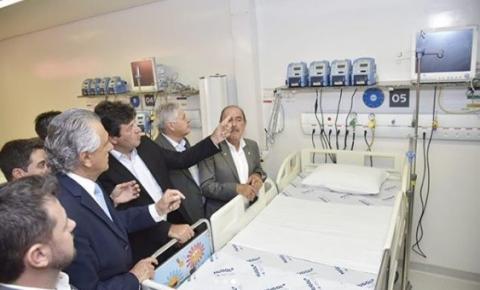 Governo de Goiás inaugura ala pediátrica em hospital na capital
