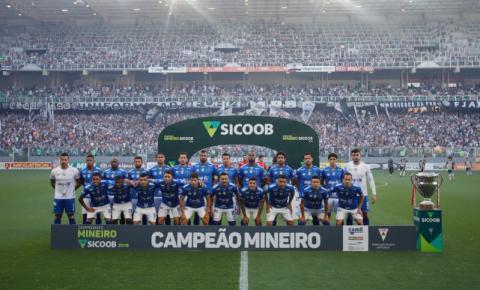 Cruzeiro leva o troféu de Campeão Mineiro de 2019