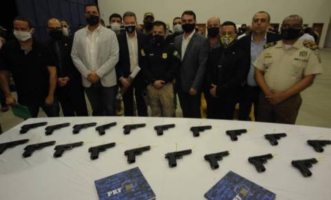 Debate sobre armamento da Guarda Municipal após doação de pistolas pela PRF