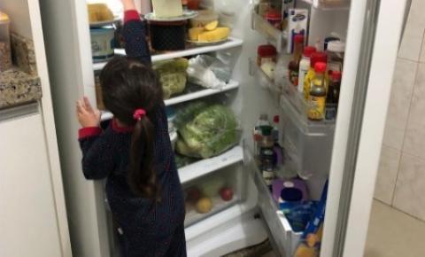 Pais precisam cuidar da alimentação dos filhos na pandemia