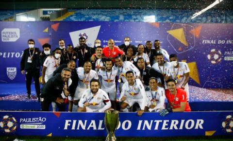 RB Bragantino conquista o bicampeonato do torneio do interior