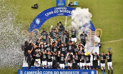 Ceará bate Bahia e é campeão da Copa do Nordeste