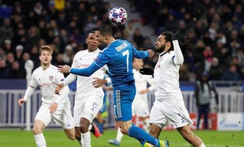 Juventus recebe o Lyon em busca de uma vaga nas quartas da Champions