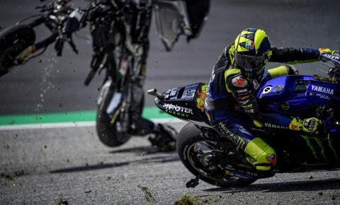O Grand Prix realizado na Áustria protagonizou cenas impressionantes aos fãs da MotoGP