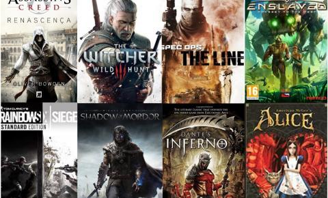 10 jogos que foram inspirados na literatura