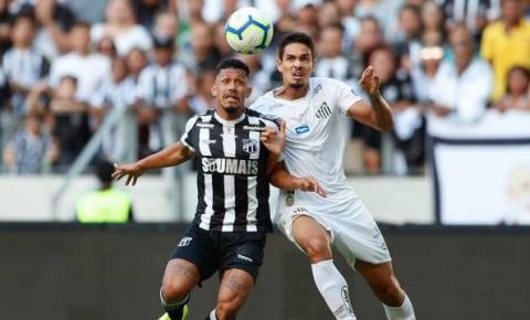 Ceará recebe o Santos pelo Campeonato Brasileiro