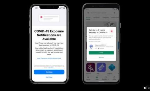 Android e iOS 13.7 incorporam monitoramento de COVID-19