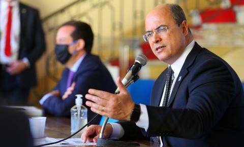 Governador do Rio de Janeiro Wilson Witzel é afastado do cargo por seis meses