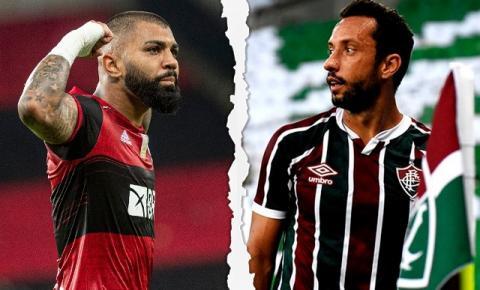Flamengo e Fluminense se enfrentam pela nona rodada do brasileirão