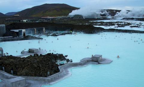 Islândia: conheça a famosa Lagoa Azul