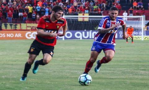 Bahia tenta se afastar do rebaixamento e enfrenta o Sport Recife