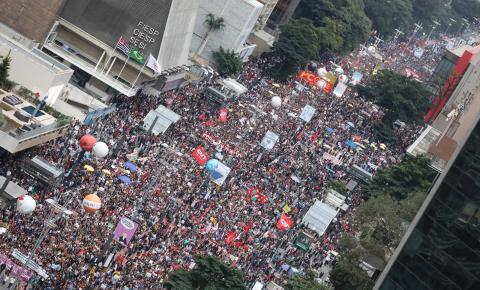 Manifestações organizadas no Brasil