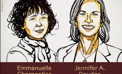 Nobel de Química premia duas mulheres pela primeira vez na história