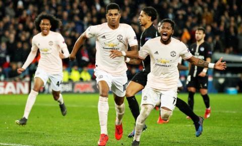 Sem Cavani, United viaja até a França para enfrentar o PSG pela Champions League