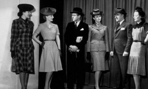 Moda nos anos 40 é influenciada por Segunda Guerra e falta de materiais