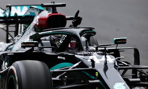 Lewis Hamilton vence em Portugal e se torna o piloto com mais vitórias na história da Fórmula 1