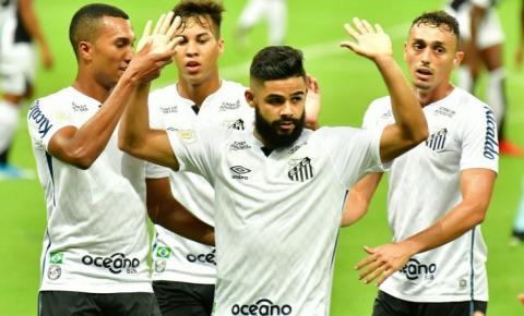 Santos e Ceará competem em jogo de ida pelas oitavas de final da Copa do Brasil