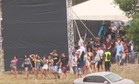 Desrespeito e aglomeração em Goiás