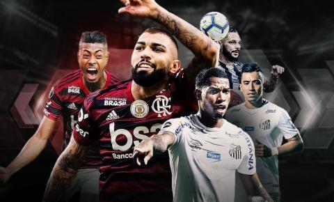 Flamengo e Santos se enfrentam pela 25ª rodada do Campeonato Brasileiro