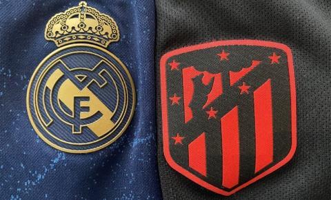 Real Madrid e Atlético de Madrid jogam clássico pelo Campeonato Espanhol