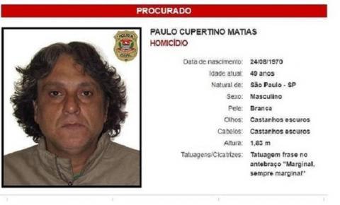 Denúncia anônima leva Polícia de São Paulo ao Paraguai em busca de Paulo Cupertino
