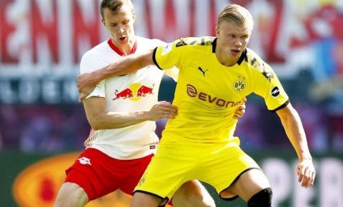 RB Leipzig e Borussia Dortmund se enfrentam em briga na parte de cima da tabela alemã