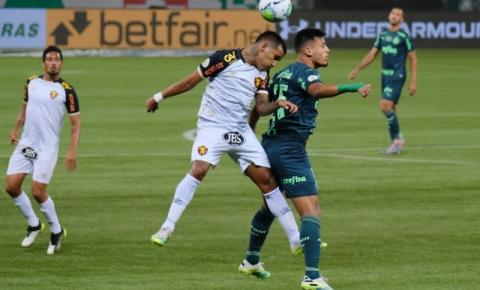 Fugindo da zona de rebaixamento, Sport recebe o Palmeiras visando regularidade